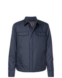 dunkelblaue Shirtjacke von Woolrich