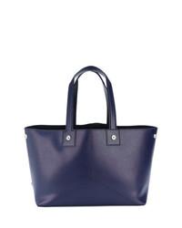 dunkelblaue Shopper Tasche aus Leder von Golden Goose Deluxe Brand