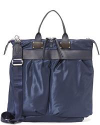 dunkelblaue Shopper Tasche aus Nylon von Rag & Bone