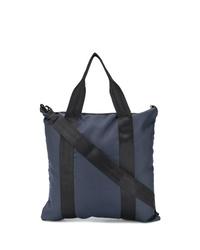 dunkelblaue Shopper Tasche aus Segeltuch von Bellerose