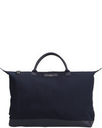 dunkelblaue Shopper Tasche
