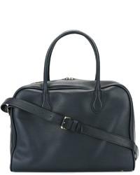 dunkelblaue Shopper Tasche von Balmain