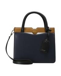 dunkelblaue Shopper Tasche von DKNY