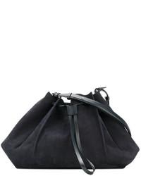 dunkelblaue Shopper Tasche von Maison Margiela