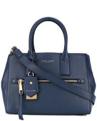 dunkelblaue Shopper Tasche von Marc Jacobs