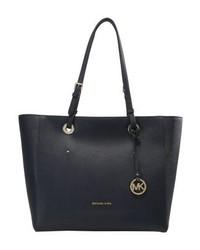 dunkelblaue Shopper Tasche von Michael Kors