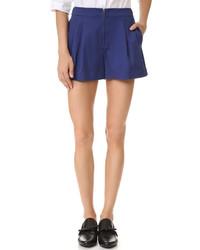 dunkelblaue Shorts von 3.1 Phillip Lim