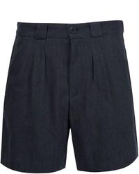 dunkelblaue Shorts von A.P.C.