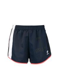 dunkelblaue Shorts von adidas