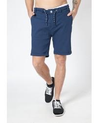 dunkelblaue Shorts von Alife and Kickin