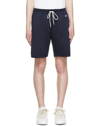 dunkelblaue Shorts von AMI Alexandre Mattiussi