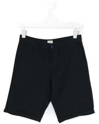 dunkelblaue Shorts von Armani Junior