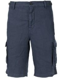 dunkelblaue Shorts von Brunello Cucinelli