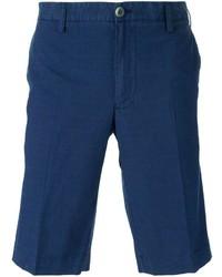 dunkelblaue Shorts von Canali