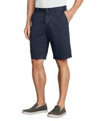 dunkelblaue Shorts von Eddie Bauer