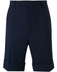 dunkelblaue Shorts von Gucci