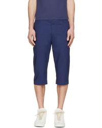 dunkelblaue Shorts von Kenzo