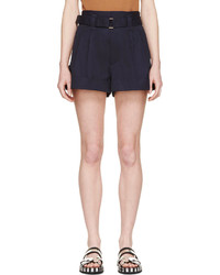 dunkelblaue Shorts von Marc Jacobs