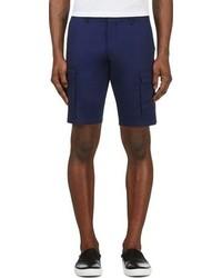 dunkelblaue Shorts von Moncler