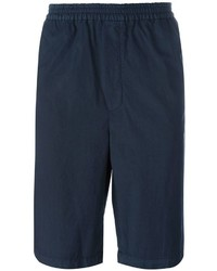 dunkelblaue Shorts von MSGM