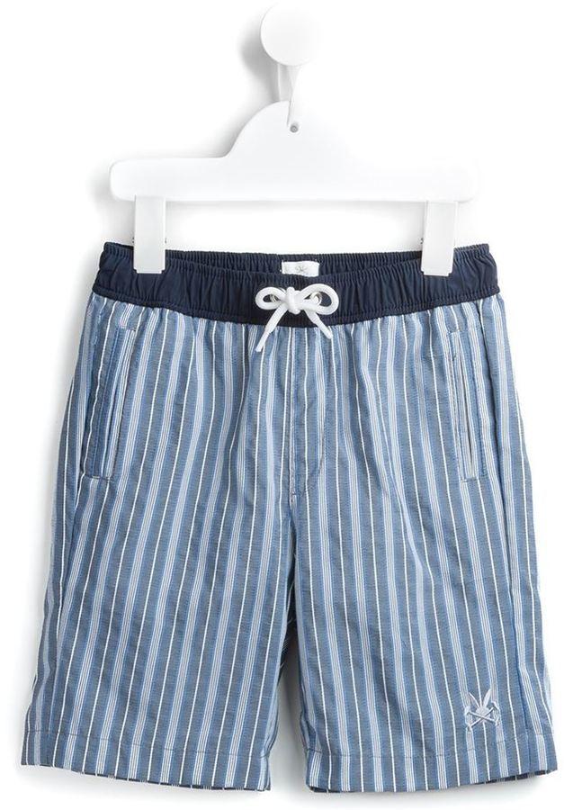 dunkelblaue Shorts von No Added Sugar