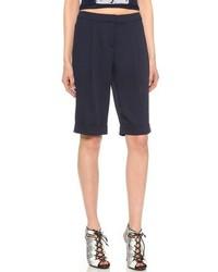 dunkelblaue Shorts von Rebecca Minkoff
