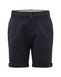 dunkelblaue Shorts von Selected Homme