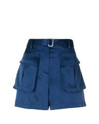 dunkelblaue Shorts von Theory