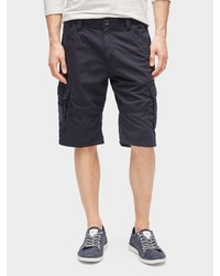 dunkelblaue Shorts von Tom Tailor