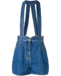 dunkelblaue Shorts von Valentino