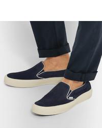 Tom Ford Sneaker Veloursleder dunkelblau