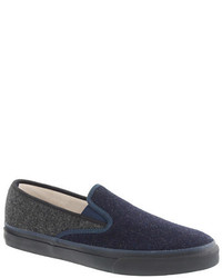 Dunkelblaue slip on sneakers original 9744256