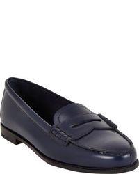 Dunkelblaue slipper original 1580217