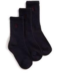 dunkelblaue Socken