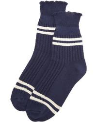 dunkelblaue Socken von Free People