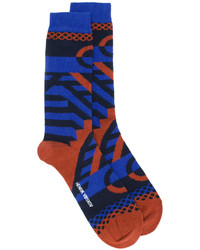dunkelblaue Socken von Henrik Vibskov