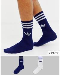 dunkelblaue Socken von adidas Originals