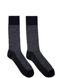 dunkelblaue Socken von BOSS