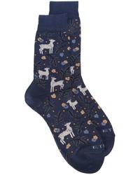 dunkelblaue Socken von Etro