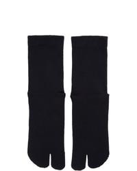 dunkelblaue Socken von Maison Margiela