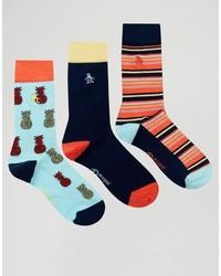 dunkelblaue Socken von Original Penguin