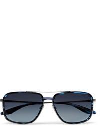 dunkelblaue Sonnenbrille von Barton Perreira