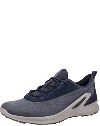 dunkelblaue Sportschuhe von Ecco