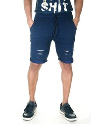 dunkelblaue Sportshorts von FIOCEO