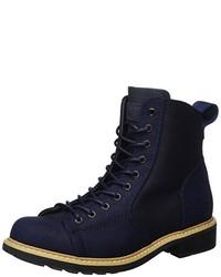 dunkelblaue Stiefel von G-Star RAW