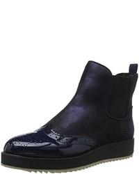 dunkelblaue Stiefeletten von La Strada