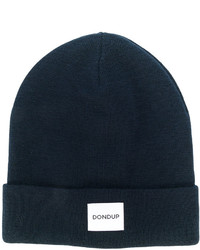 dunkelblaue Strick Mütze von Dondup