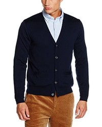 dunkelblaue Strickjacke von Brooks Brothers