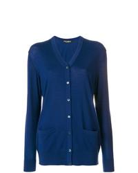 dunkelblaue Strickjacke von Dolce & Gabbana