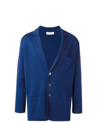 dunkelblaue Strickjacke von Fashion Clinic Timeless
